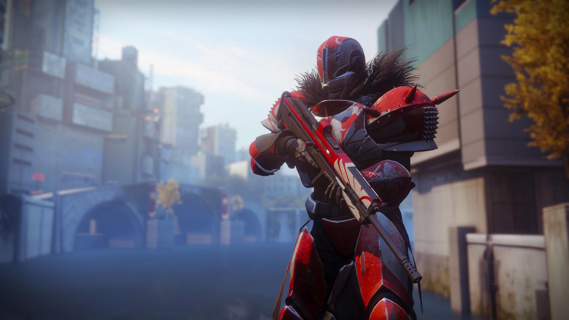 Screenshot des classes de Destiny 2.