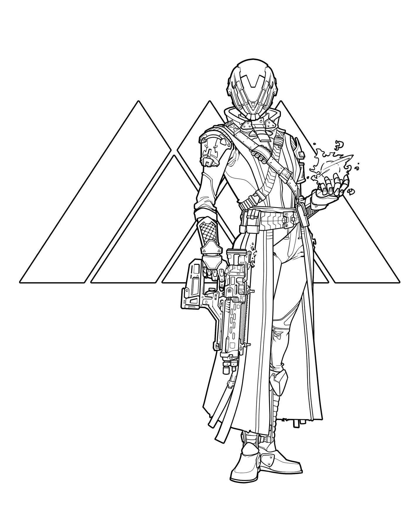 Photo Du Livre De Coloriage Destiny Destiny 2 Judgehype