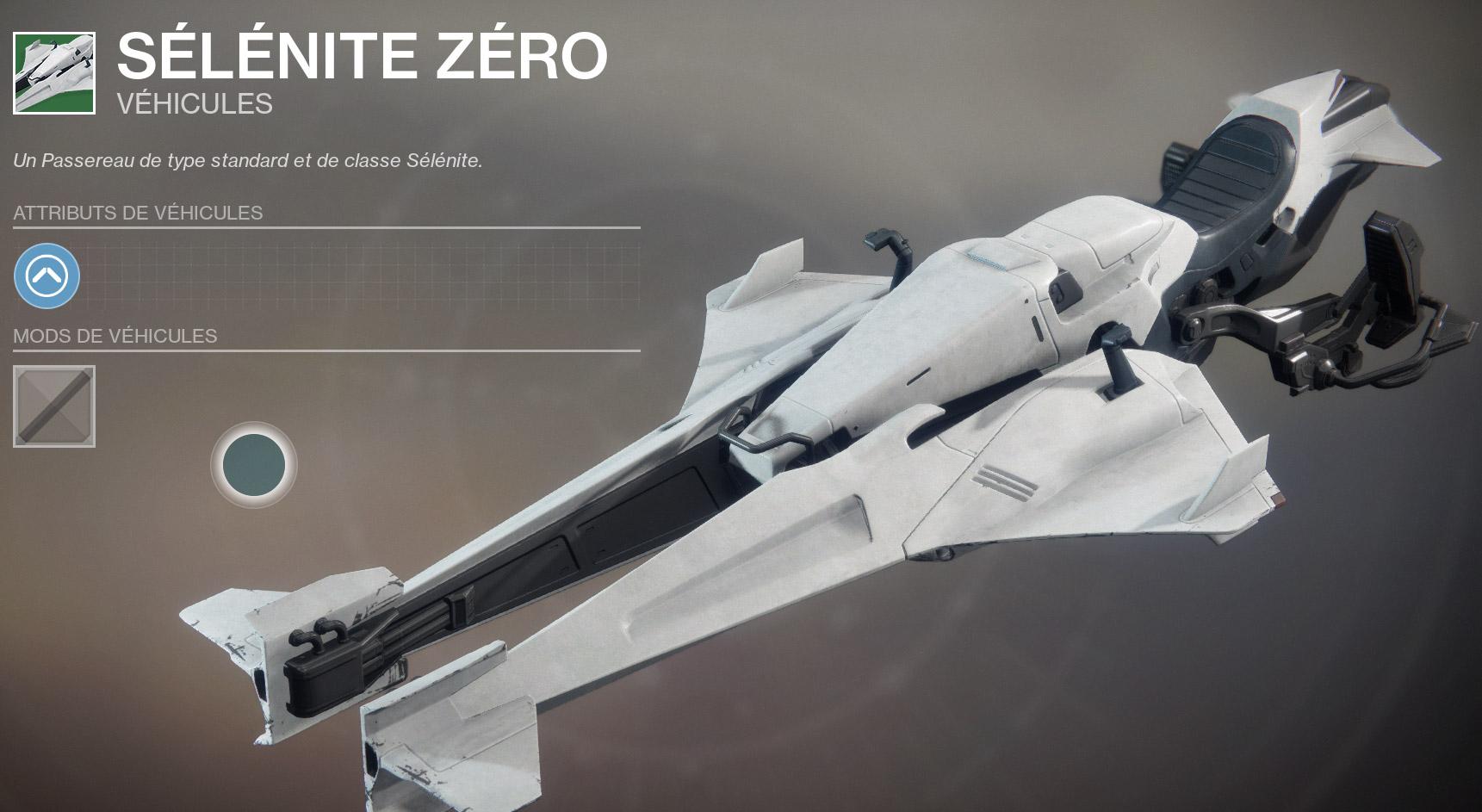 Véhicule Destiny 2.