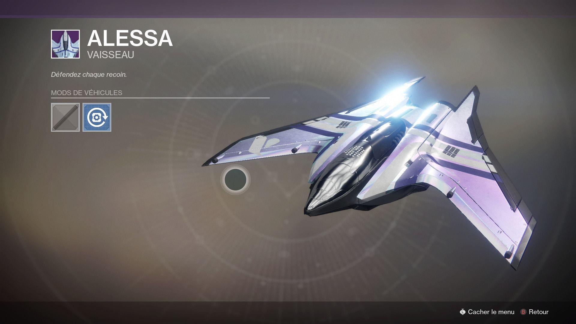 Vaisseau de Destiny 2.